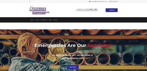 Absolute Septic Pumping LLC